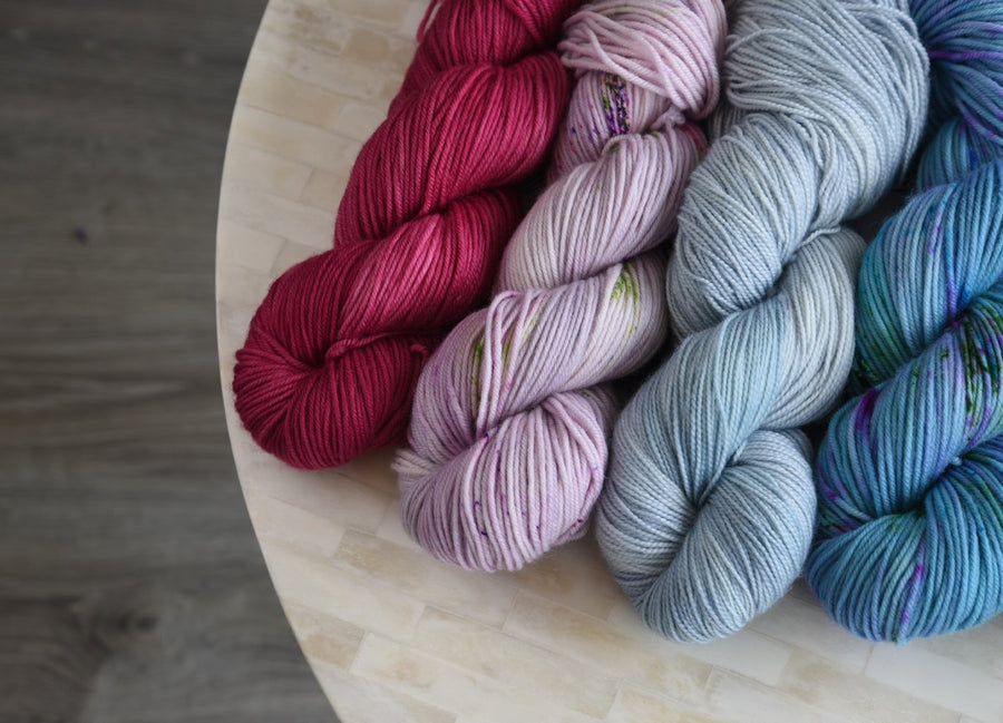 Destination Yarn Knitting Kit Sweater Quantity Preorder - Fingering Weight