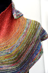 Destination Yarn Knitting Kit Yarn Friends Kit - Turntable Shawl