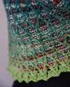 Destination Yarn Knitting Kit Yarn Friends Kit - Verdigreen Shawl