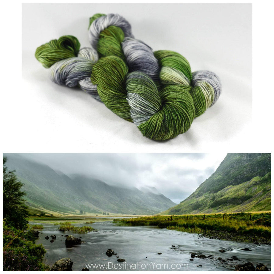 Destination Yarn Lace/Mohair Glen Coe - Mohair