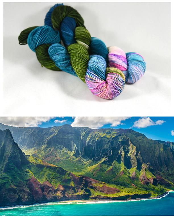 Destination Yarn Lace/Mohair Kaua'i - Mohair