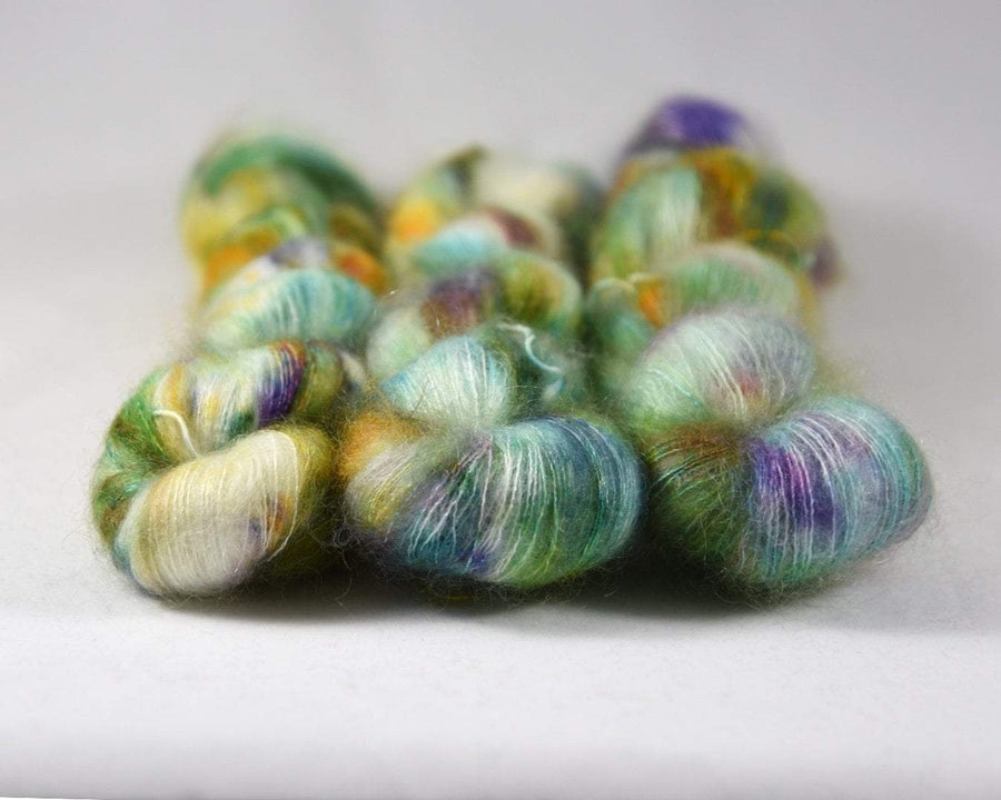 Destination Yarn Lace/Mohair Mardi Gras - Mohair