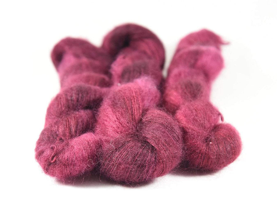 Destination Yarn Lace/Mohair Napa Red - Mohair