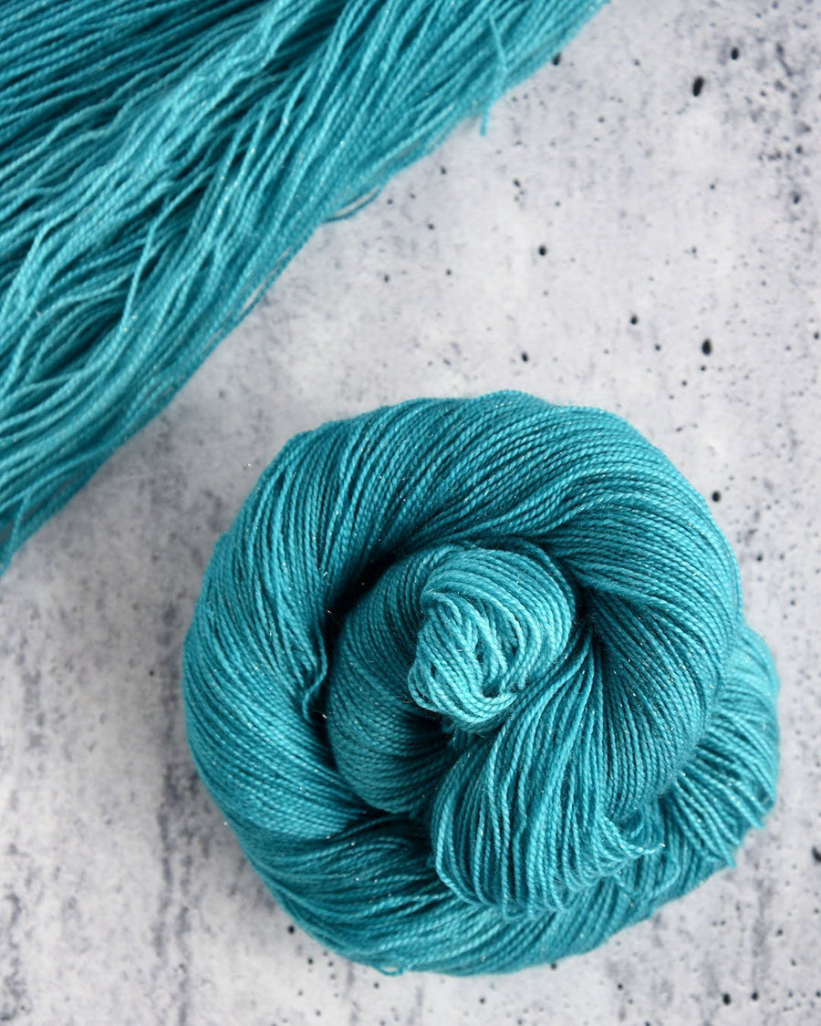 Destination Yarn Lace/Mohair Shining Sea - Mohair