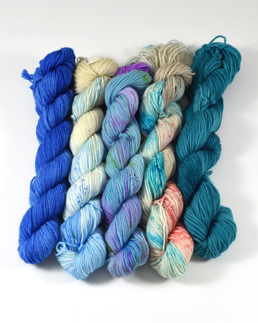 Destination Yarn Mini Skein Set Beach Collection - MINI SKEIN SET