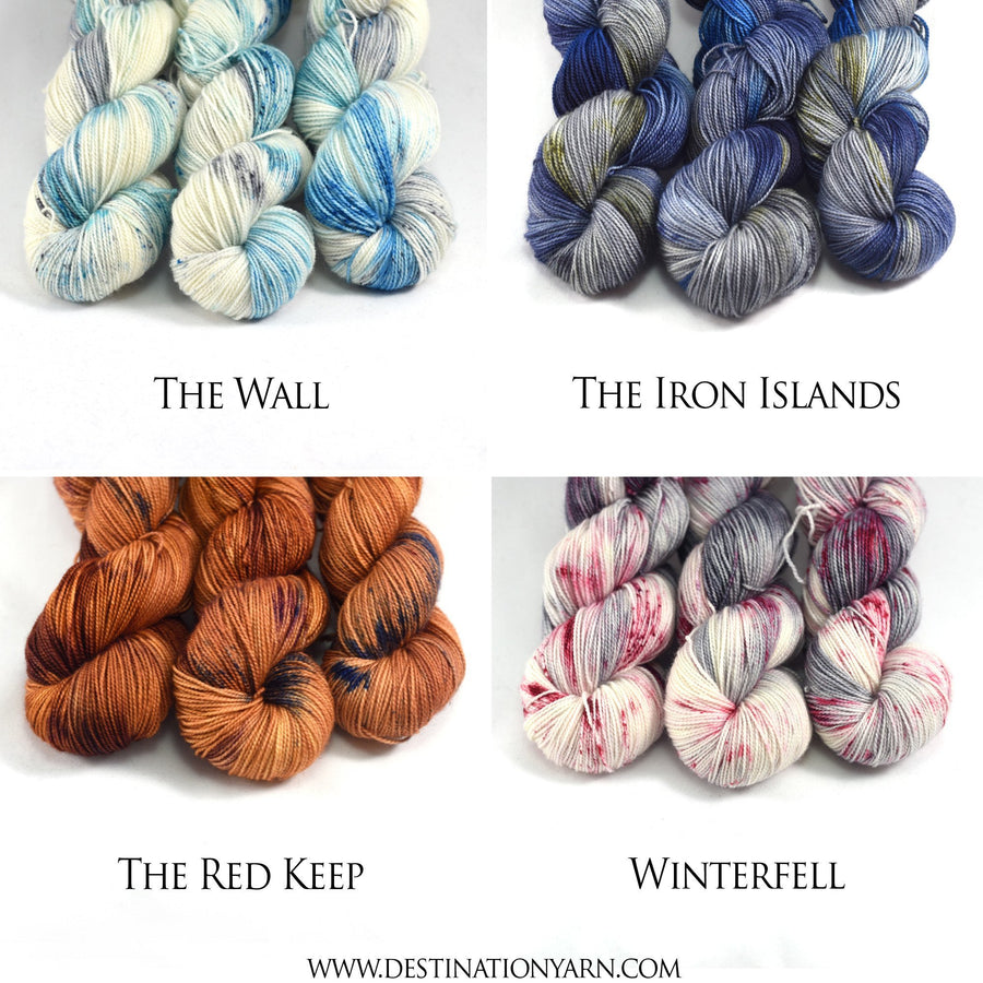 Destination Yarn Mini Skein Set Game of Thrones Mini Skein Set - Series 1