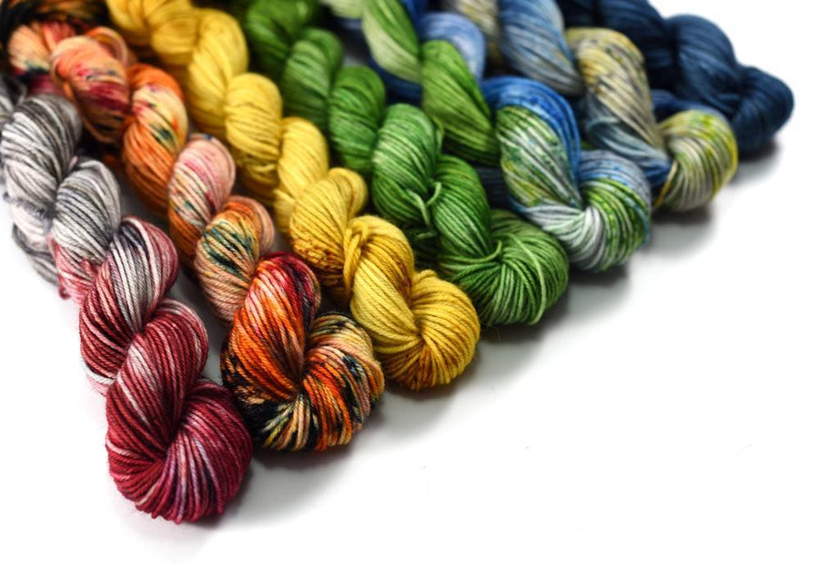 Destination Yarn Mini Skein Set Midwest Collection Mini Skein Set