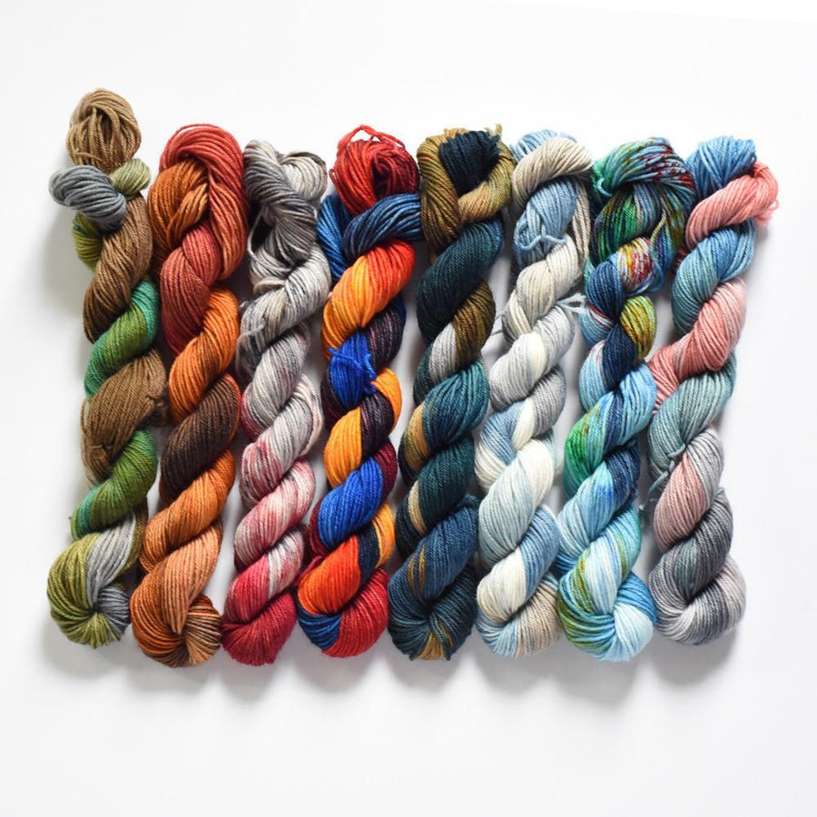 Destination Yarn Mini Skein Set Ohio Collection Mini Skein Set