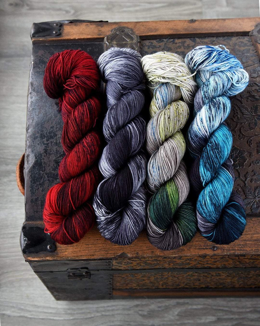 Destination Yarn Mini Skein Set Postcard Game of Thrones New Colorways - MINI SKEIN SET