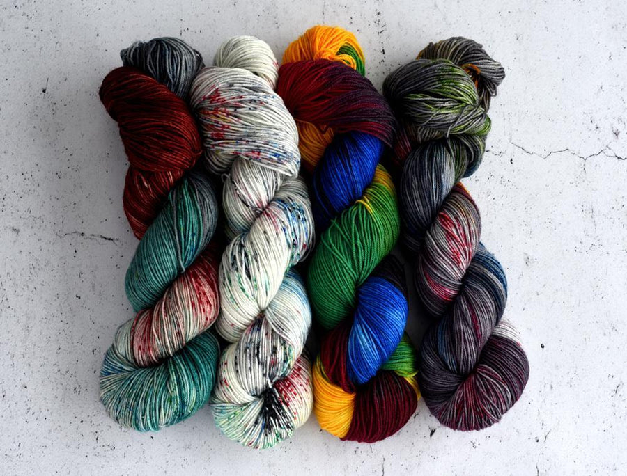 Destination Yarn Mini Skein Set Pyeongchang 2018 - MINI SKEIN SET