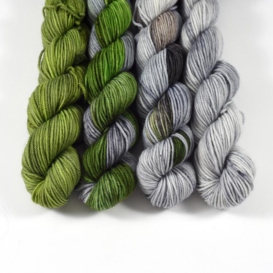 Destination Yarn Mini Skein Set Scotland Collection - MINI SKEIN SET