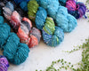 Destination Yarn Slub Yarn Lagoon - Bumpy Road