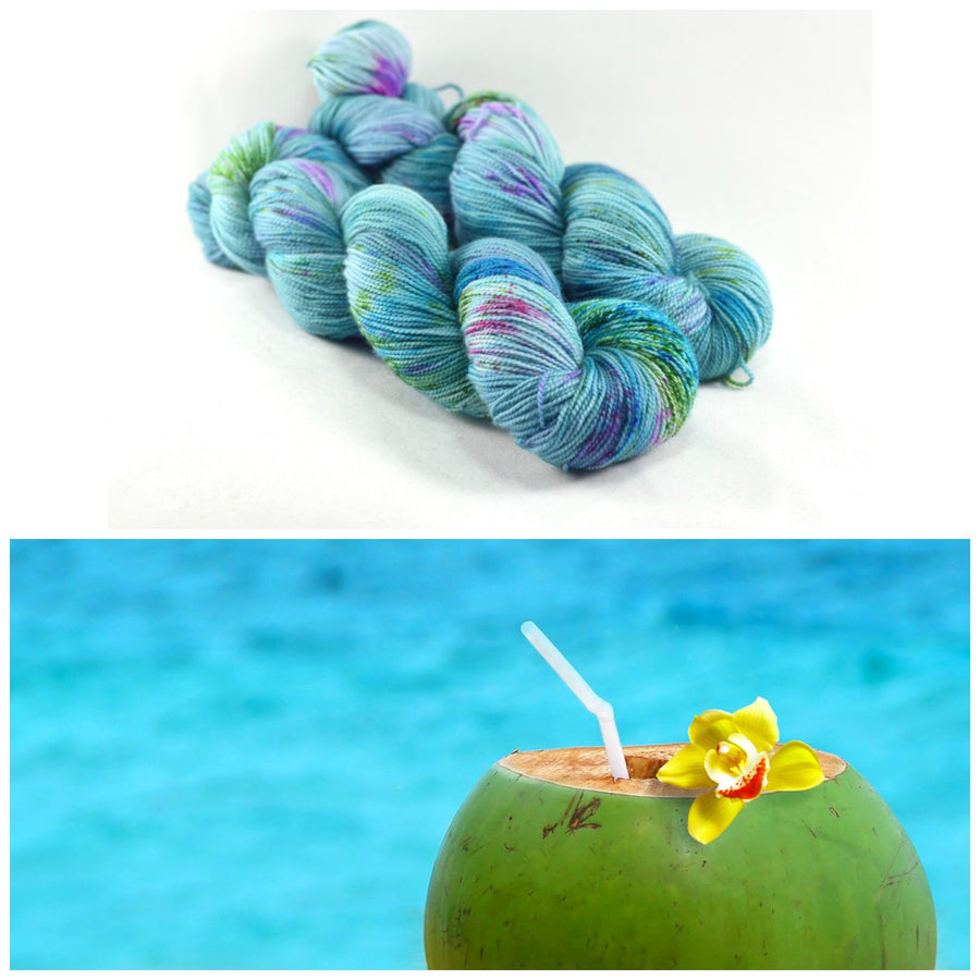 Destination Yarn Slub Yarn Swim Up Bar - Bumpy Road