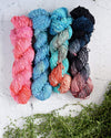Destination Yarn Slub Yarn Tide Pool - Bumpy Road