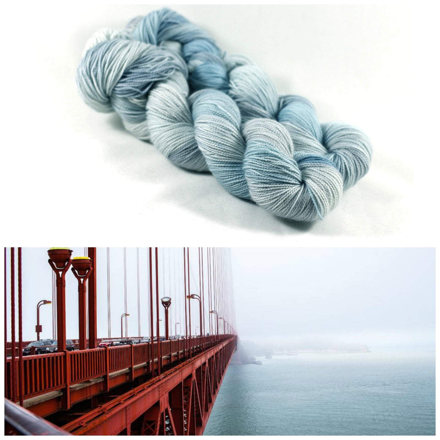 Destination Yarn Sport Weight Coastal Fog - Sport Weight