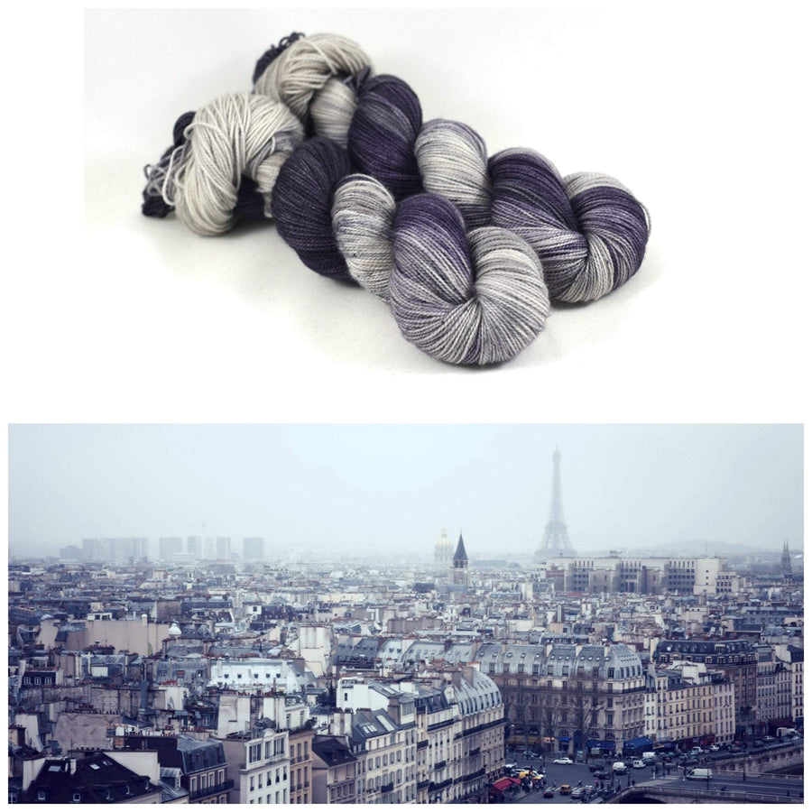 Destination Yarn Sport Weight Parisian Fog - Sport Weight