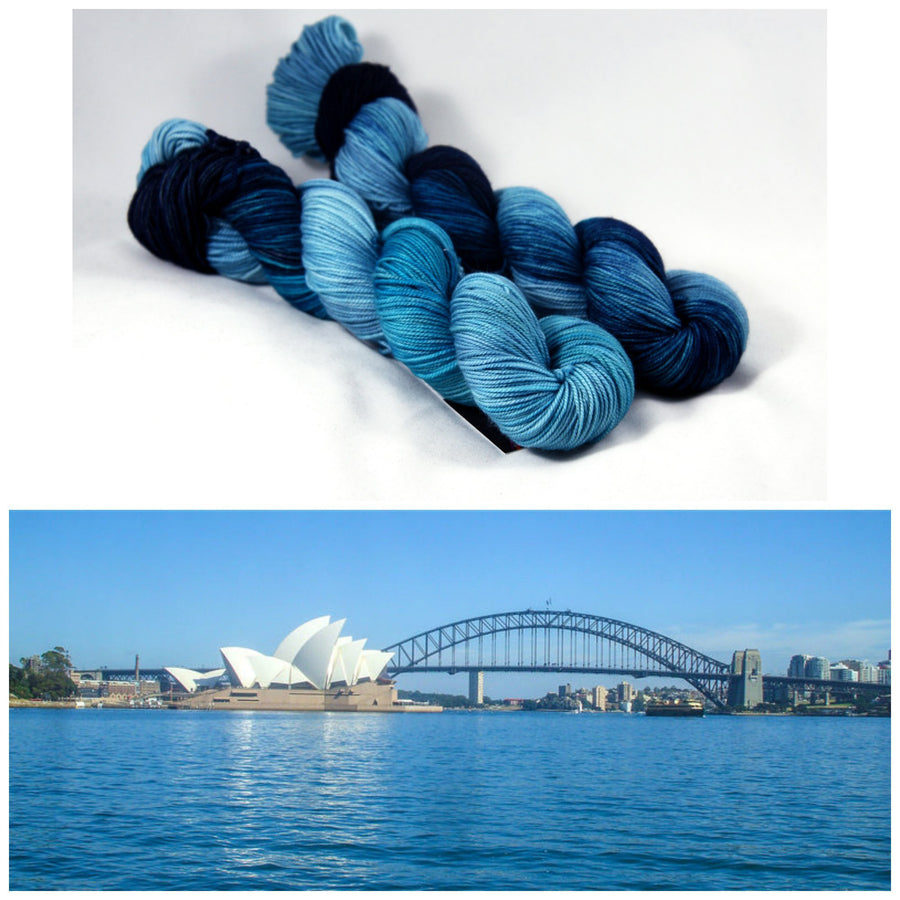 Destination Yarn Sport Weight Sydney Harbour - Sport Weight