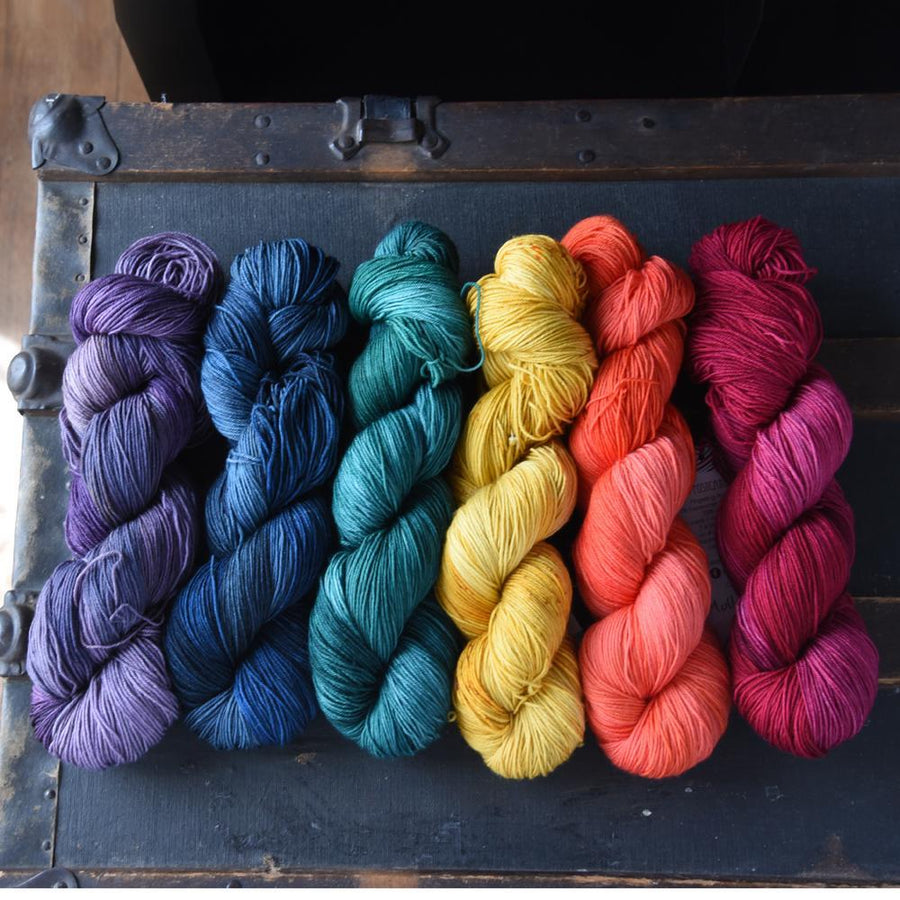 Destination Yarn Workshop Hand Dyed Happy Hour