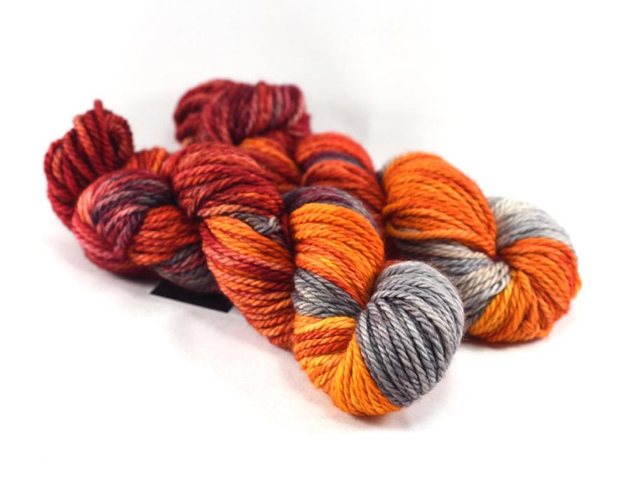 Destination Yarn Worsted Weight Yarn CAMPFIRE - Suitcase