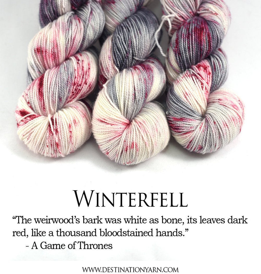Destination Yarn Worsted Weight Yarn WINTERFELL - Suitcase