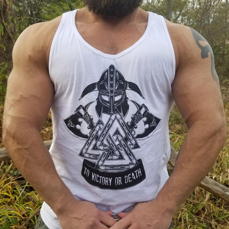 Men's To Victory Or Death Tank Top