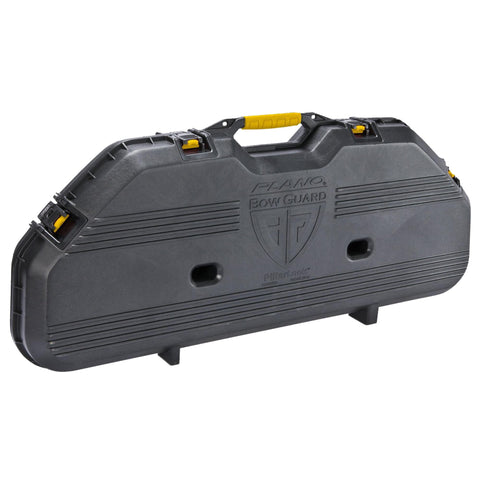 Plano All Weather Case - Bow Case, Black-Yellow