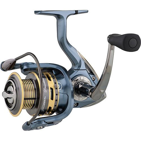 "Pflueger Lady President Spinning Reel - 35 Reel Size, 5.2:1 Gear Ratio, 28.5"" Retrieve Rate, 12 lb Max Drag Ambidextrous"