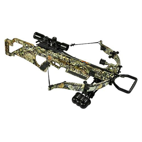 Excalibur Matrix Bulldog 330 Crossbow Package, Mossy Oak Break Up Country