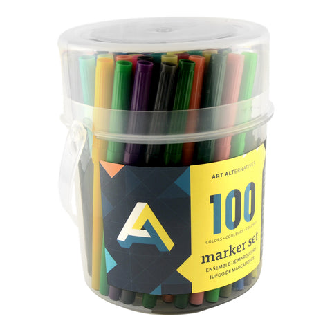 ART ALTERNATIVE MARKER SET 100