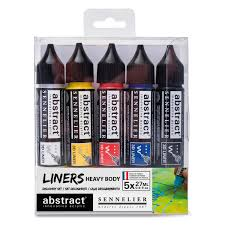 ABSTRACT ACRYLIC LINER SET 5