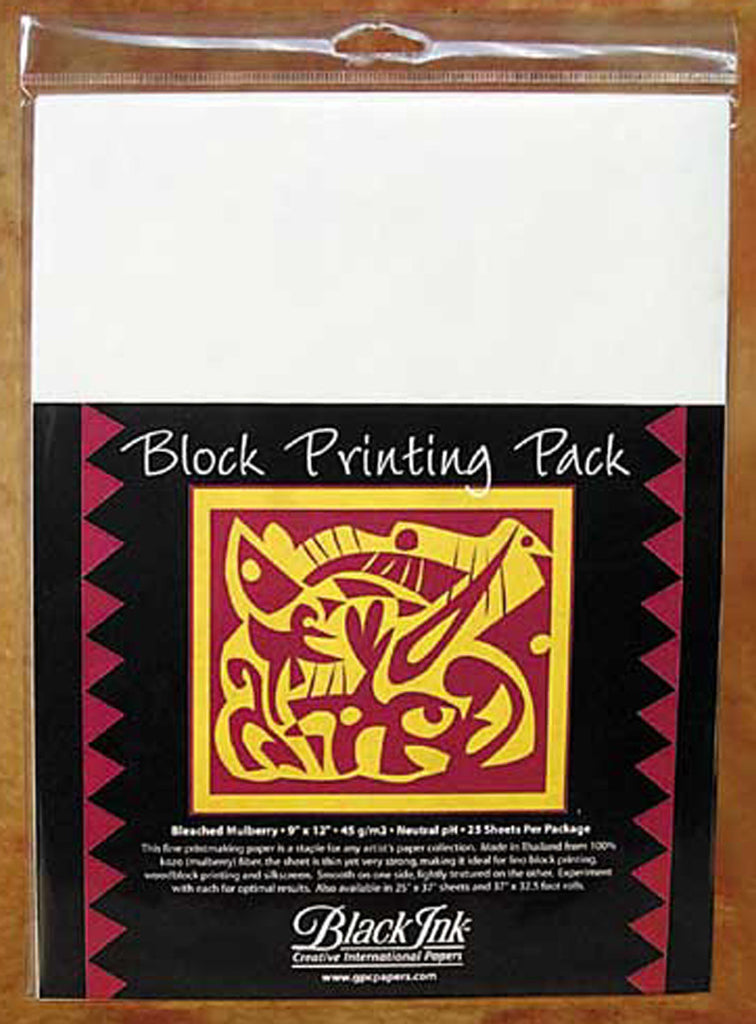 BLOCKPRINTING PACK UNBLEACHED