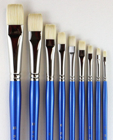HOG'S BRISTLE BRUSHES - BRIGHTS