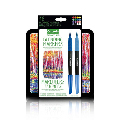 CRAYOLA BLENDING MARKER 16 SET