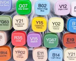 COPIC MARKERS - B00-E77
