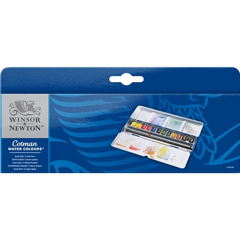 COTMAN BLUE BOX WC SET