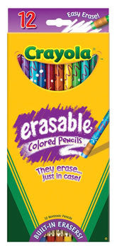 CRAYOLA ERASABLE COLOUR PENCIL
