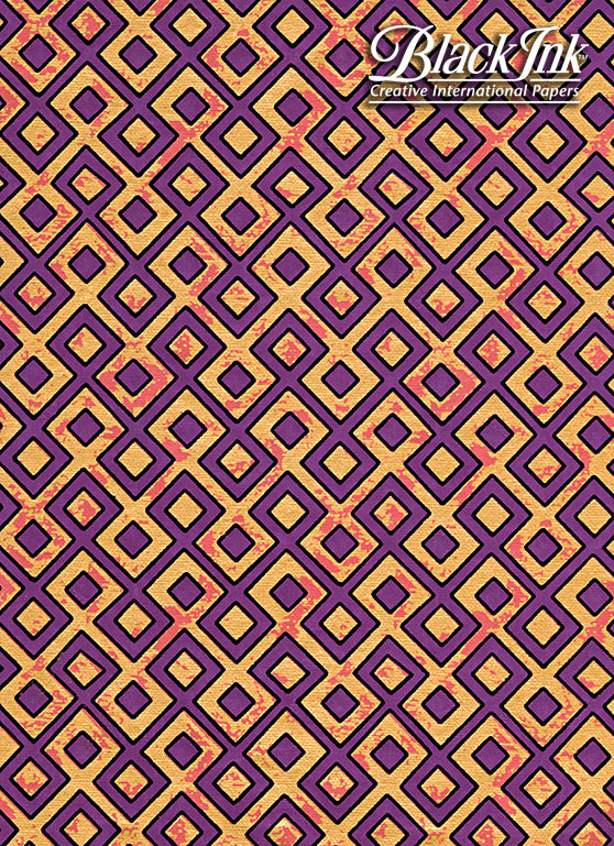 SCREEN PRINT TESSELLATION PURP
