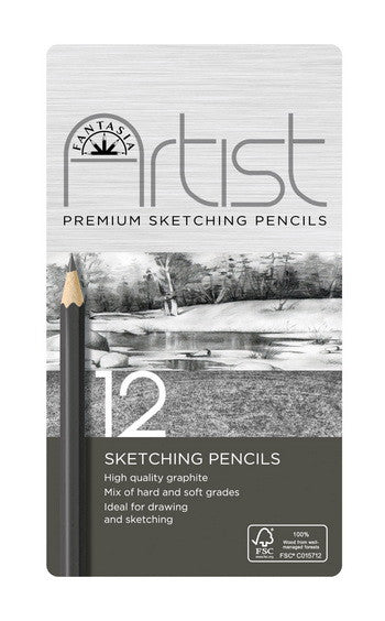 DRAWING PENCIL SET 12