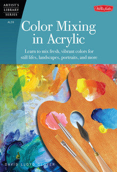 COLOR MIXING IN ACRYLICS
