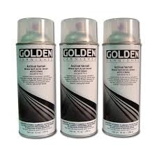 GOLDEN SPRAY VARNISHES