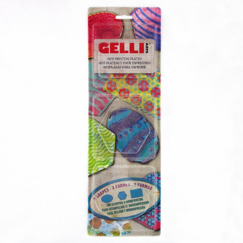 GELLI MINI PLATES SET 2