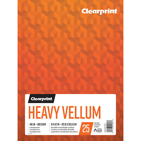 CLEARPRINT HEAVY VELLUM PAD 11X14