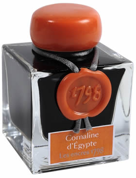HEREBIN FOUNTAIN PEN INK - 1798 SERIES - CARNELIA