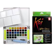 KOI WATERCOLOUR SET 36