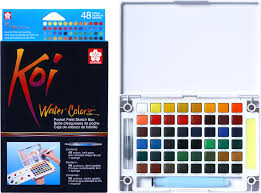 KOI WATERCOLOUR SET 48