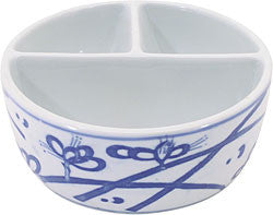 PORCELAIN BRUSH WASH DISH