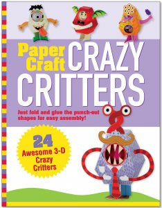 PAPERCRAFT CRAZY CRITTERS