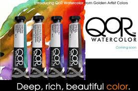QoR ARTIST WATERCOLOURS