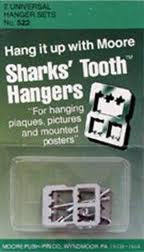 PICTURE HANGERS SHARKSTOOTH
