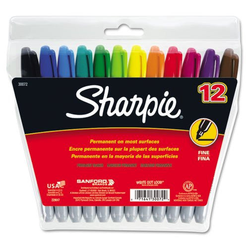 SHARPIE FINE POINT 12 SET